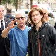 René-Charles Angélil revient d'une session de foot en salle à Paris, France, le 4 juillet 2016. © Agence/Bestimage