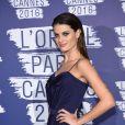 """Isabeli Fontana - Photocall de la soirée L'Oréal Paris """"Blue Obsession"""" à l'occasion des 10 ans de collaboration de Doutzen Kroes, dans la suite L'Oréal à l'hôtel Martinez, lors du 69ème Festival International du Film de Cannes. Le 18 mai 2016"""