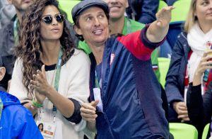 Matthew McConaughey : Amoureux à Rio, il affiche une forme olympique