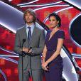 Eric Christian Olsen et Daniela Ruah aux People's Choice Awards 2015.