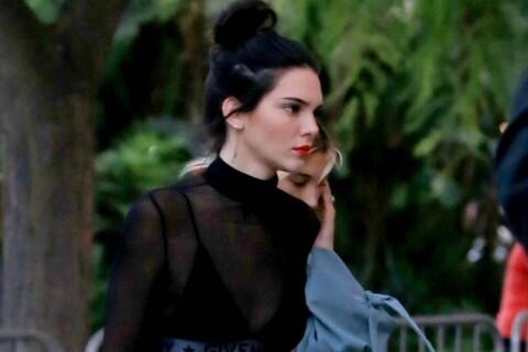 Kendall Jenner : Traquée par un inconnu, elle reste planquée dans sa voiture