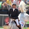Phillipe Rozier of France rides Rahotep De Toscane during the Jumping Team Round 2 during Day 12 of the Rio 2016 Olympic Games at the Olympic Equestrian Centre on August 17, 2016 in Rio de Janeiro, Brazil. Photo by Lionel Hahn/ABACAPRESS.COM17/08/2016 - Rio de Janeiro