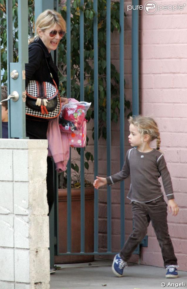 Laura Dern et sa fille