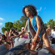 Rihanna à la Barbade en décembre 2013