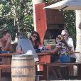 Exclusif - George Clooney et sa femme Amal Alamuddin en vacances avec Cindy Crawford, Rande Gerber et leurs enfants Presley et Kaia à Cabo San Lucas au Mexique le 22 décembre 2014.