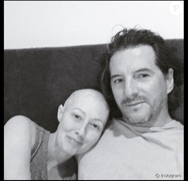 Shannen Doherty et son mari Kurt Iswarienko sur une photo publiée sur Instagram le 18 août 2016