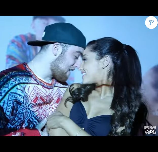 "Mac Miller et Ariana Grande dans le clip ""The Way"" sorti en 2013."