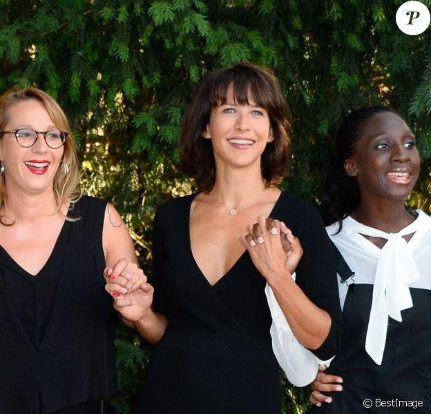 Sophie Marceau, Eye Haidara - 9ème Festival du Film Francophone d'Angoulême - Jour 5, le 26 août 2016. © Coadic Guirec/Bestimage