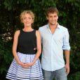 Juliette Arnaud et Elliott Covrigaru -  9ème Festival du Film Francophone d'Angoulême - Jour 5, le 26 août 2016. © Coadic Guirec/Bestimage