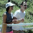 Exclusif - L'acteur Giovanni Ribisi et sa nouvelle compagne se baladent en amoureux à Los Feliz le 12 juillet 2015.