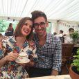 Agyness Deyn et son nouvel époux, Joel McAndrew sur une photo publiée le 24 juillet 2016