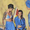 Le mannequin australien Ruby Rose en vacances avec des amis à Ibiza, Espagne, le 1 er Août 2016.