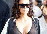 Kim Kardashian : Corset transparent et seins en évidence, elle ne cache rien