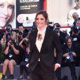 Chiara Mastroianni, membre du jury, à la première de Premier contact, Arrival, au 73ème Festival du Film de Venise. Italie, le 1er septembre 2016.