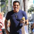 Lionel Richie et s fille Sofia Richie passent la journée ensemble à Beverly Hills le 2 septembre 2016.