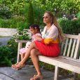 Beyoncé a partagé des photos d'elle avec sa fille Blue Ivy dans les rues de New York, sur sa page Instagram le 4 septembre 2016
