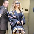 La chanteuse Beyoncé Knowles sort de l'hôtel Greenwich à New York, le 14 juin 2016.