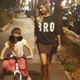 Alexandra Rosenfeld et sa fille Ava sur Instagram, septembre 2016