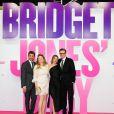 Patrick Dempsey, Sharon Maguire, Renée Zellweger et Colin Firth à la Première du film ''Bridget Jones' Baby'' au Zoo Palast à Berlin, Allemagne, le 7 septembre 2016