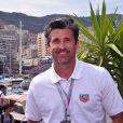 Patrick Dempsey lors du Grand Prix de Formule 1 de Monaco, le 28 mai 2016. © Bruno Bebert/Bestimage