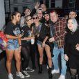 Lady Gaga se rend au studio de Capital FM à Londres, le 9 septembre 2016.