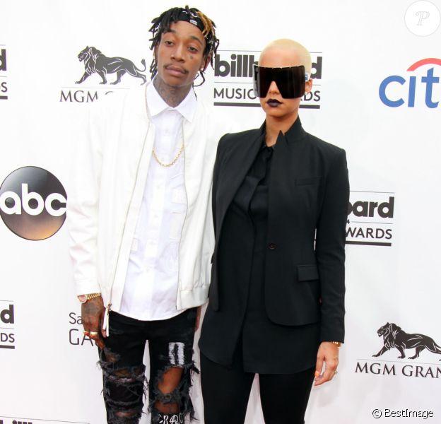 Wiz Khalifa, Amber Rose à l'occasion de la cérémonie des Billboard Music Awards 2014 à Las Vegas le 18 mai 2014