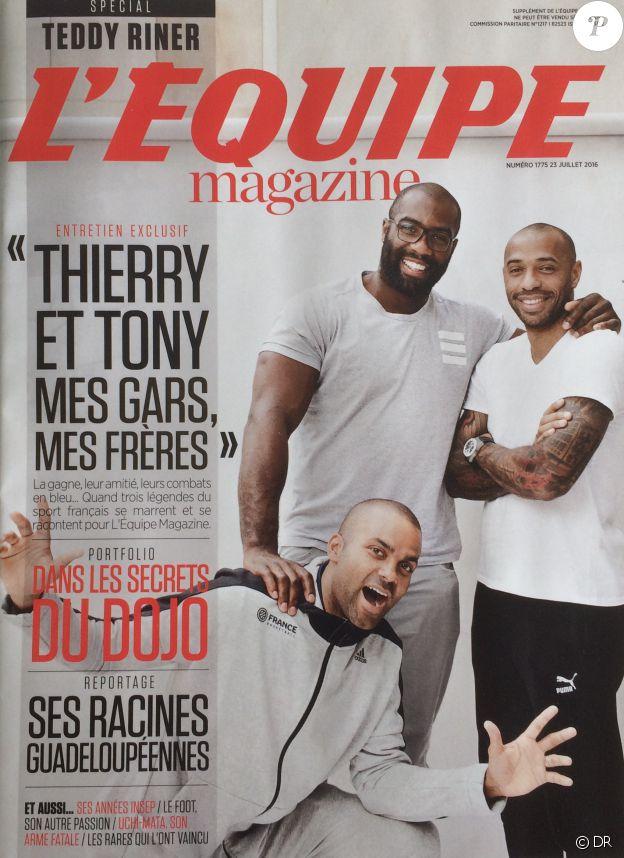 L'Equipe Magazine, en kiosques le 23 juillet 2016.
