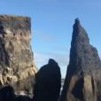 """David Hallyday en Islande pour le tournage de son nouveau clip """"Comme avant"""", septembre 2016."""