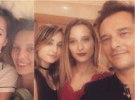 David Hallyday et Estelle Lefébure réunis : Joyeux anniversaire Emma !