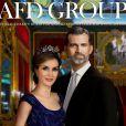Les artistes russes d'AFD Group ont réalisé des poupées du roi Felipe VI et de la reine Letizia d'Espagne pour le 4e Madrid Fashion Doll Show, où elles ont été présentées le 10 septembre 2016.