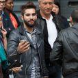Exclusif - Kendji Girac, invité d'honneur à la finale de l'émission de The Voice Belgique, était attendu par ses fans devant les studios de télévision de Médiacité, à Liège en Belgique le 5 mai 2015.