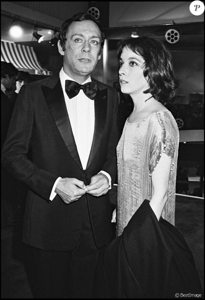 Maurice ronet et sa femme jos phine chaplin en 1977 paris - Julien robinet fils de maurice ronet ...
