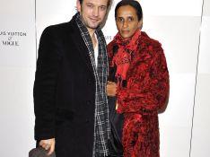 REPORTAGE PHOTOS : Vincent Perez très amoureux à la soirée Vogue...