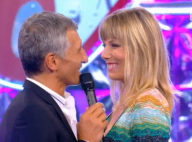 """Nagui amoureux : Best of de sa femme Mélanie dans """"Noubliez pas les paroles"""""""