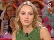 """Lily-Rose Depp, cash : """"Mes parents ne pouvaient pas dire non !"""""""