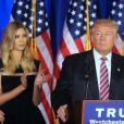 Ivanka Trump, Melania Trump - Donald Trump s'adresse à ses supporters et aux médias pendant un meeting à Briarcliff Manor, NY on June 7, 2016. © Agence/Bestimage Republican