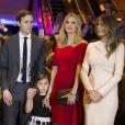 Jared Kushner, Ivanka Trump et Melania Trump - Donald Trump, candidat aux primaires du Parti républicain pour l'élection présidentielle de 2016 l'emporte dans l'état de New York le 19 Avril 2016.