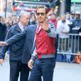 Ryan Gosling invité sur le plateau de 'Good Morning America' à New York. Ryan Gosling et Eva Mendes ont accueilli leur deuxième enfant, une petite fille prénommée Amada. Le 12 mai 2016