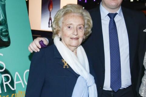 """Bernadette Chirac, """"épuisée"""", hospitalisée auprès de Jacques"""