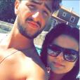 Fanny de Secret Story 10, amoureuse de son fiancé Joao sur Instagram. Ici au soleil.