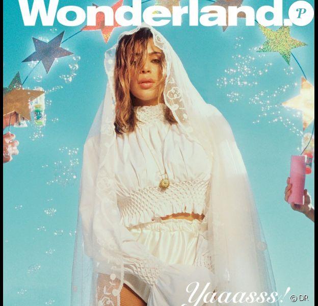 Kim Kardashian fait la couverture du magazine Wonderland, au mois de septembre 2016