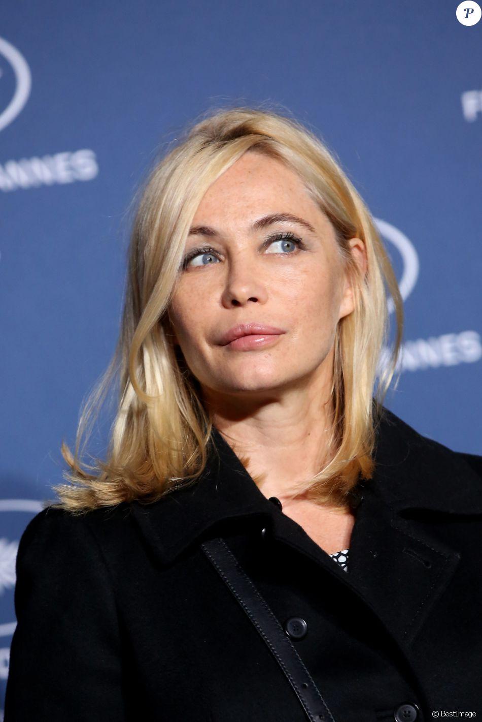 Emmanuelle Béart - Soirée à l'occasion des 70 ans du tout premier festival de Cannes à l'école des Beaux Arts à Paris, le 20 Septembre 2016. © Dominique Jacovides/Bestimage