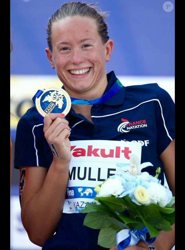 Aurelie Muller championne du monde en 2015 à Kazan, Russie