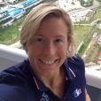 Aurélie Muller aux Jeux Olympiques de Rio de Janeiro sur son Facebook.