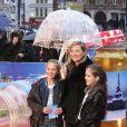 """Kate Moss et sa fille Lila Grace à la Première du film """"Paddington"""" à Londres. Le 23 novembre 2014"""