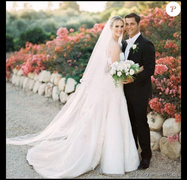 Le mariage de Sam Page et Cassidy Boesch en novembre 2014