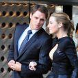 Blake Lively et Sam Page sur le tournage de la série Gossip Girl à New-York le 31 août 2010