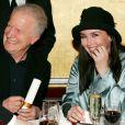 André Dussollier et Isabelle Adjani à Paris en janvier 2005.