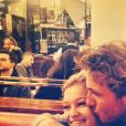 Lucas Pouille et Clémence Bertrand in love sur Instagram.