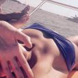 Clémence Bertrand expose ses jolies courbes sur Instagram.